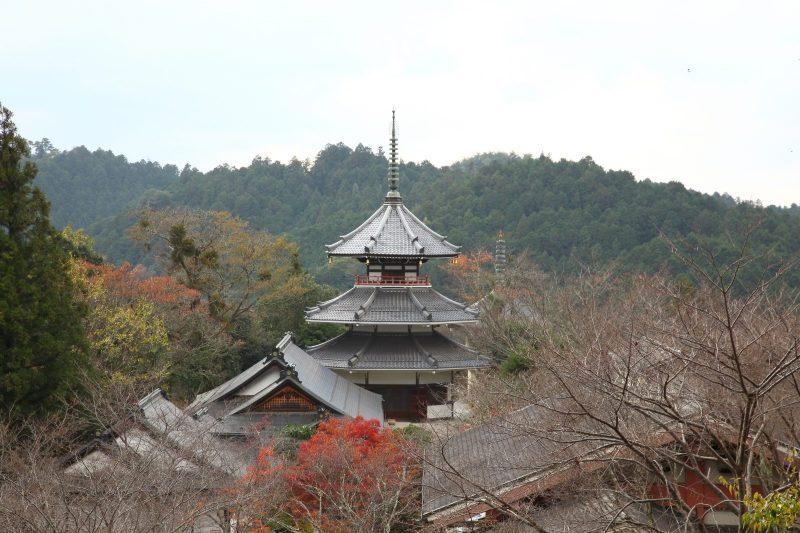 金峯山寺(きんぷせんじ)妙法殿三重塔