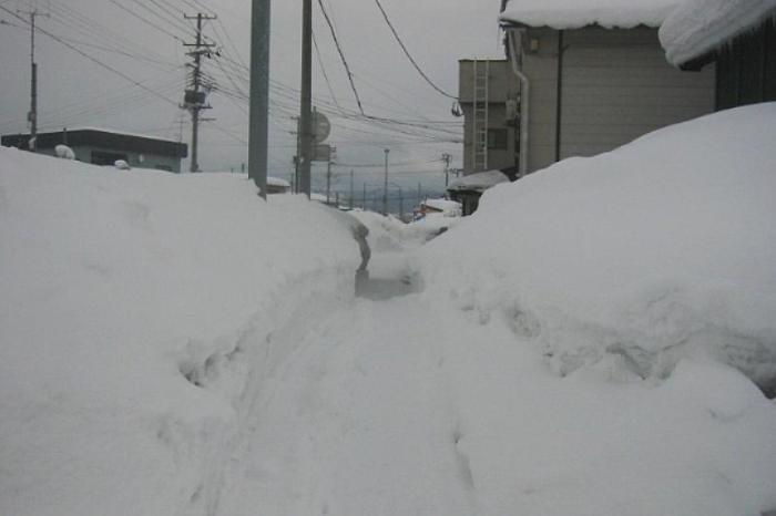 日本各地の冬の風景「青森 津軽」