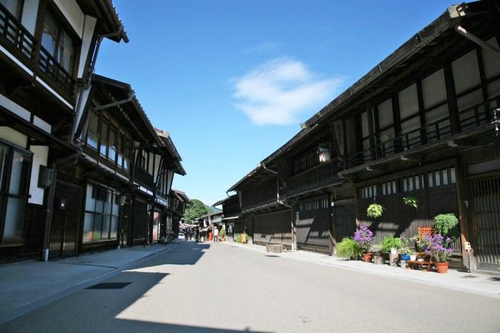 中山道の宿場町「奈良井宿」