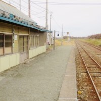 JR抜海駅。故高倉健さんが出演してた南極物語のロケ地とされてますが実は違うんです。古いネタでごめんなさい。