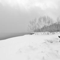 支笏湖の冬の景色を見に行きました。
