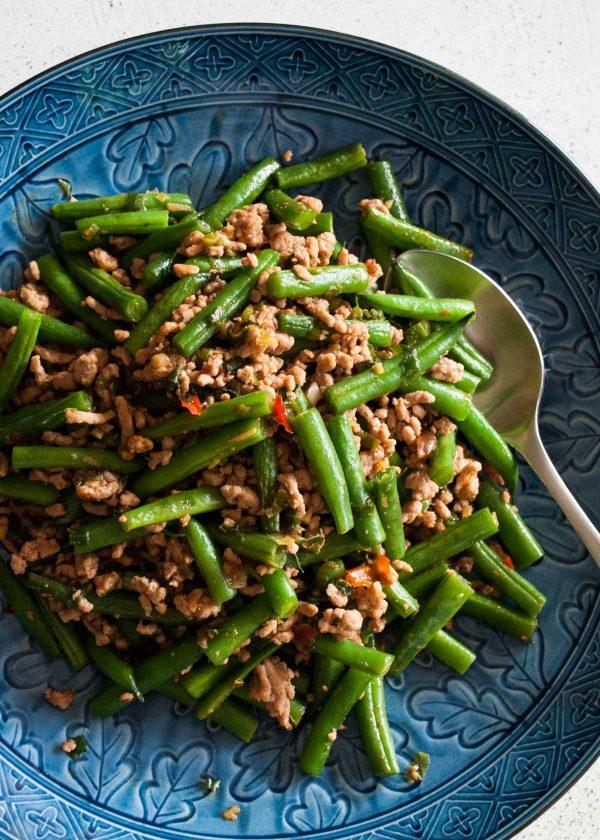 Beans and Pork Mince Stir Fry | RecipeTin Japan