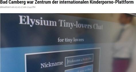 児童ポルノサイト運営者ら14名が逮捕(画像は『hessenschau.de 2017年7月7日付「Bad Camberg war Zentrum der internationalen Kinderporno-Plattform」(picture-alliance/dpa)』のスクリーンショット)