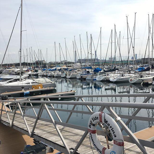 横浜ベイサイドマリーナ Yokohama Bayside Marina#sailing #harbour #sea #yacht #japan #yokohama - from Instagram