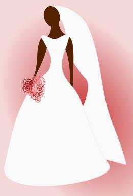 黒人の花嫁