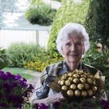 楽しそうな老後の女性