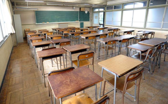 学校の教室や机