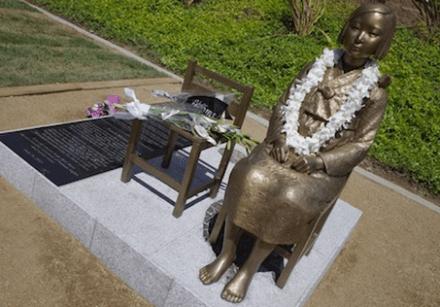アメリカの慰安婦像