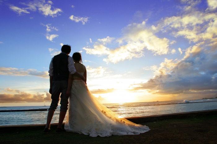 結婚したカップル