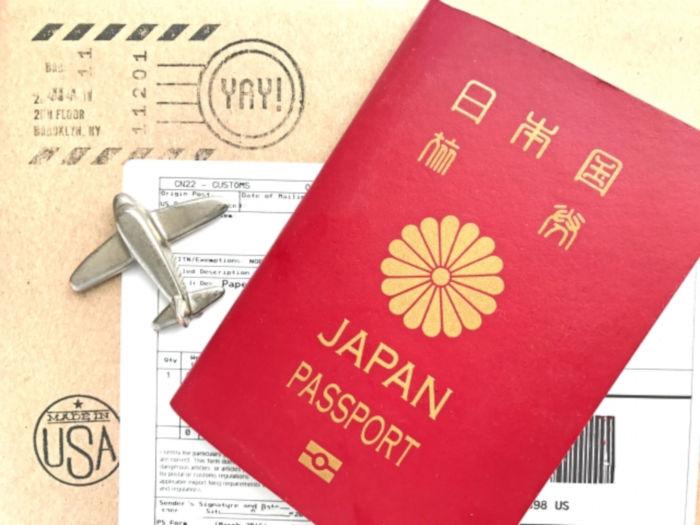 パスポートやビザのイメージ