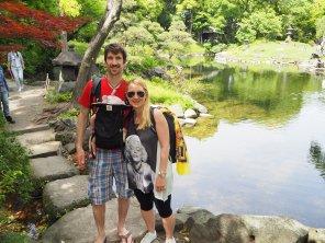Japonski park.