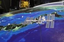 Kako satelit kroži okoli zemlje. (foto: JZ)
