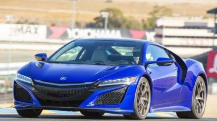 2018 Acura NSX front