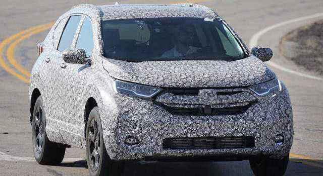 2018 Honda CR-V front-view