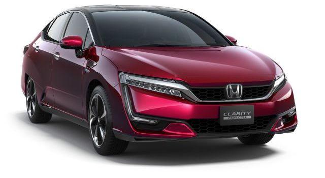 2017 Honda Clarity front