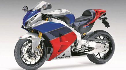 Honda RVF1000 front