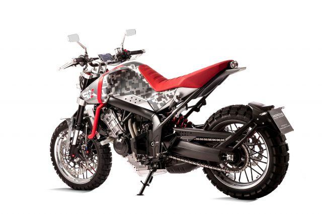 Honda CBsix50 side