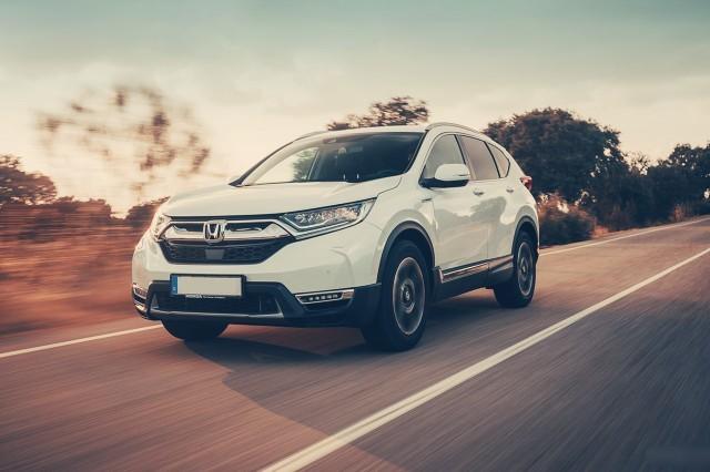 2019 Honda CR-V hybrid exterior