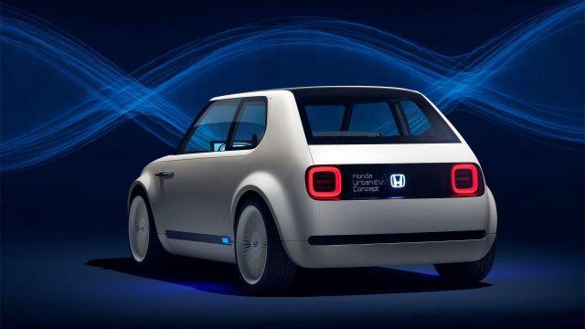 2020 Honda Urban EV rear view