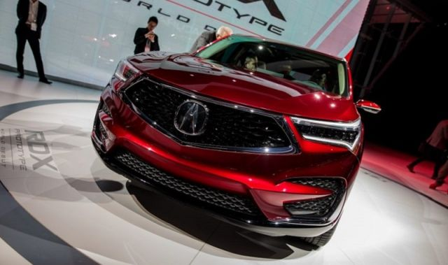 2020 Acura RDX front