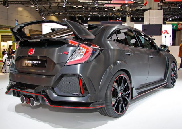 2020 Honda Civic Type-R AWD rear