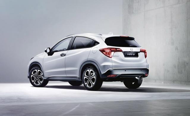 2020 Honda HR-V rear