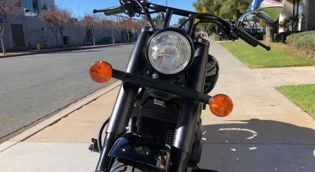 2019 Honda Shadow Phantom front