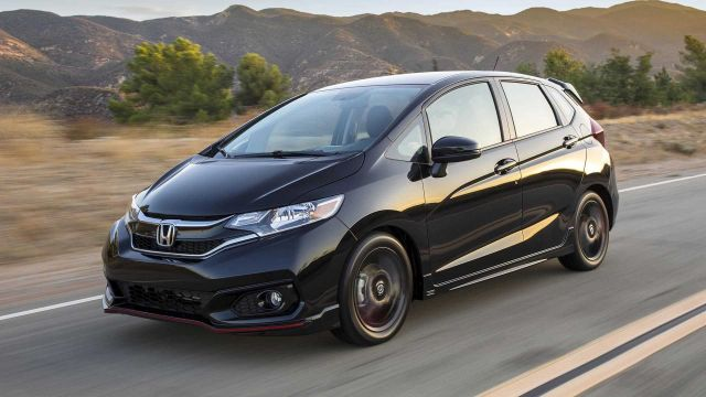 2020 Honda Fit front