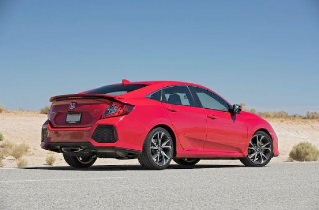 2020 Honda Civic SI rear