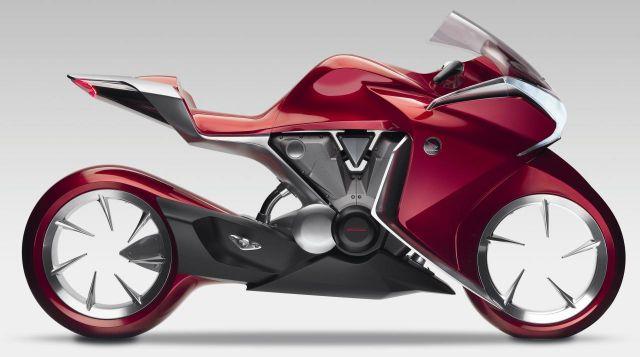 Honda V4 side