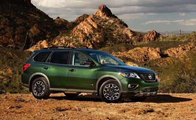 2020 Nissan Pathfinder side