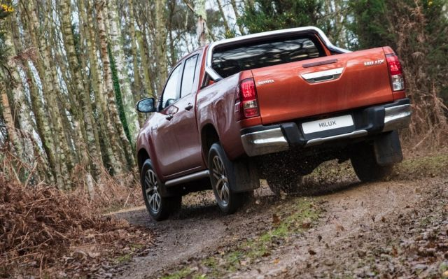2020 Toyota Hilux rear