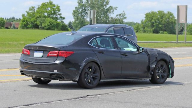 2021 Acura TLX rear look