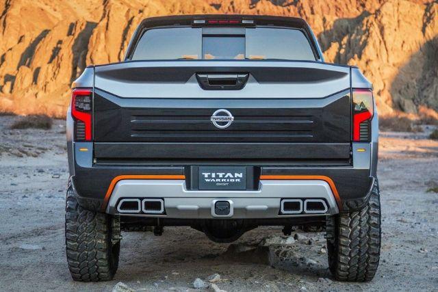 2020 Nissan Titan Warrior rear