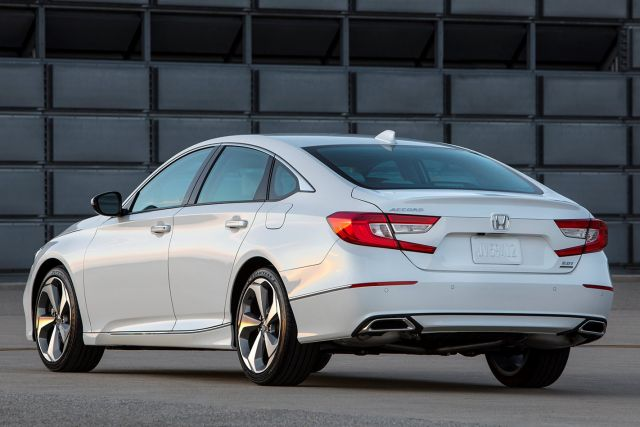 2021 Honda Accord rear