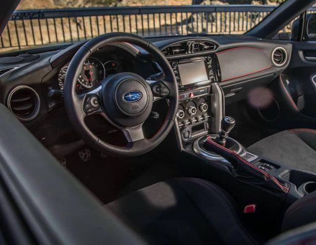 2020 Subaru BRZ interior