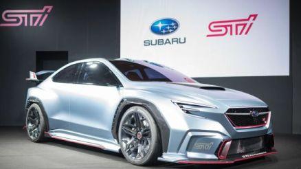 2020 Subaru WRX STI front
