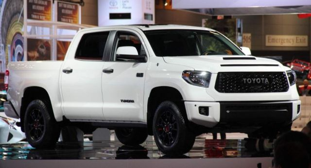 2020 Toyota Tundra TRD Pro side