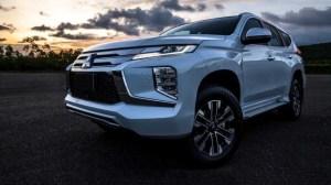 2020 Mitsubishi Montero exterior