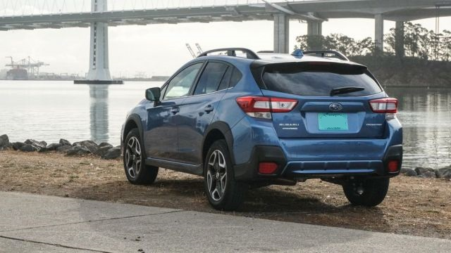 2020 Subaru Crosstrek rear