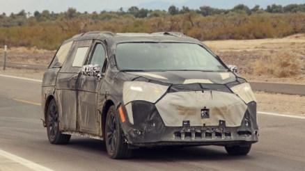 2021 Toyota Sienna spy shots