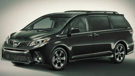 2020 Toyota Sienna Limited Premium exterior