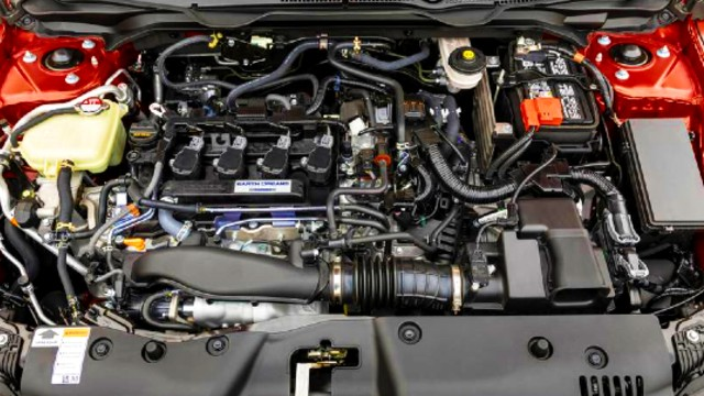 2021 Honda Civic engine