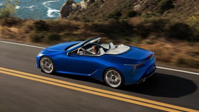 2021 Lexus LC 500 exterior