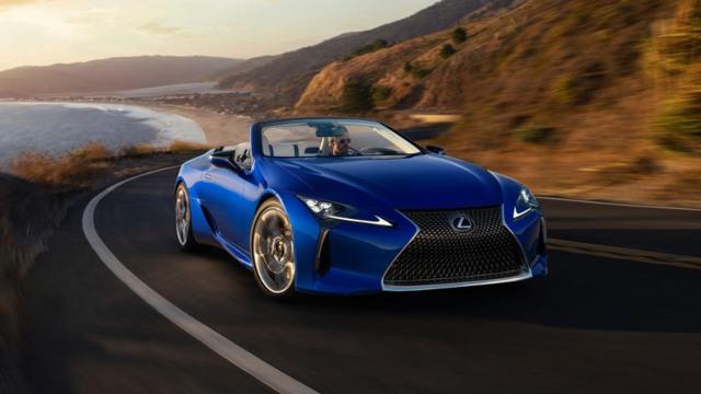 2021 Lexus LC 500 design