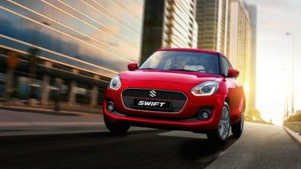 2021 Suzuki Swift facelift