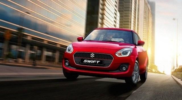 2021 Suzuki Swift facelift