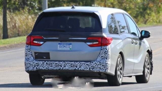2021 Honda Odyssey rear