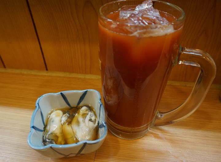 Banpaiya 晩杯屋 Vinegared fresh oyster カキ酢