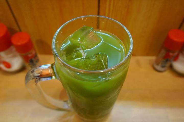 Banpaiya 晩杯屋 Green tea mixed with shochu 緑茶割り